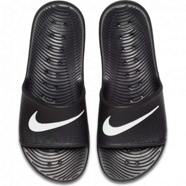 Шлепанцы мужские Nike Kawa Shower черные 13.5 US