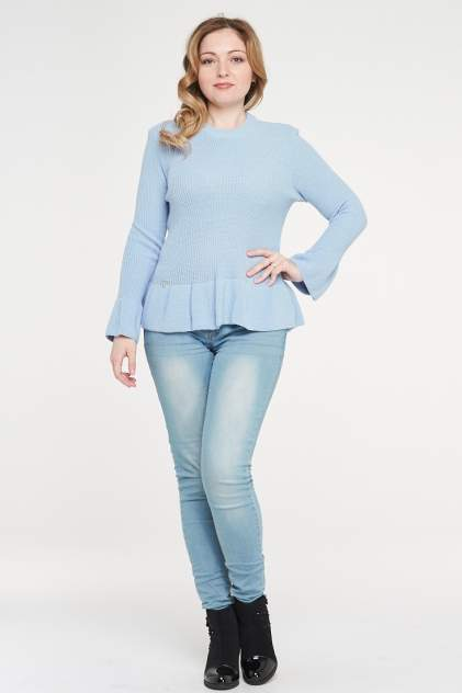 Джемпер женский VAY 182-4759, голубой