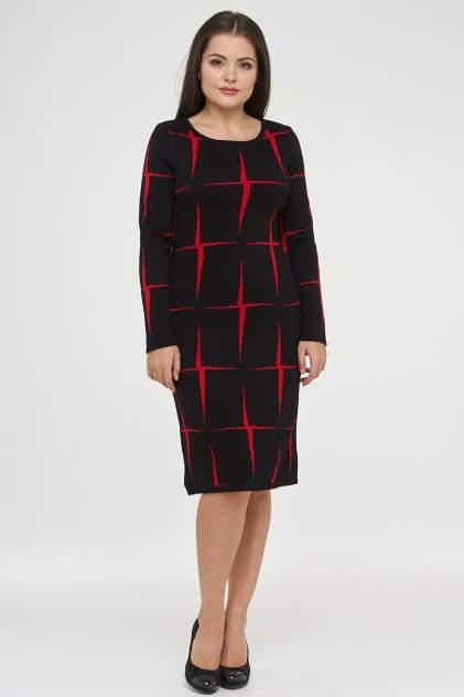 Платье женское VAY 182-2339 черное 52 RU
