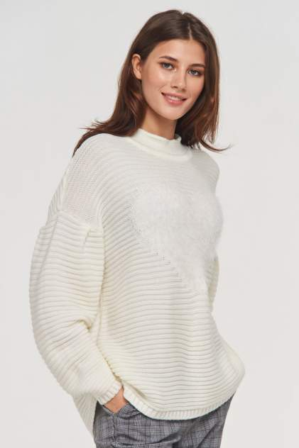 Джемпер женский VAY 192-4063 белый 50 RU