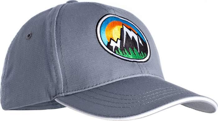 Бейсболка  SUN HAT 2415-9605 СЕРЫЙ