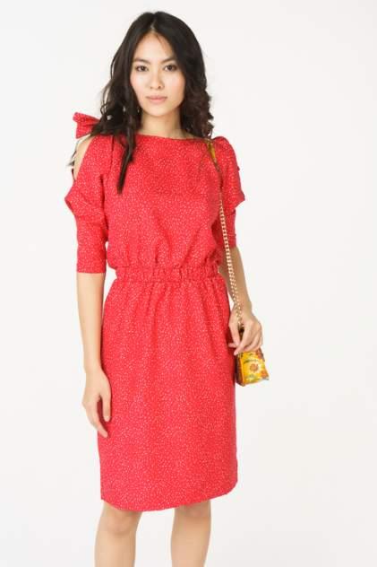 Платье женское LA VIDA RICA D71028 красное 42 RU