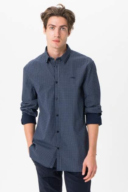 Рубашка мужская Guess M93H25W8BX0PTY7 синяя XXL