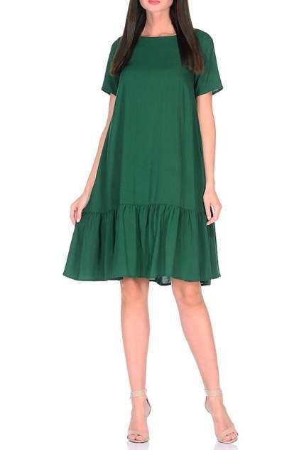 Платье женское Alina Assi 11-503-010 зеленое 3XL