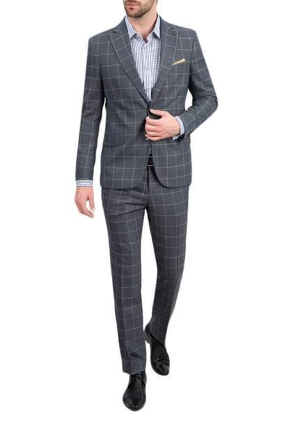 Мужской костюм BAZIONI 1121 MS DENTRO LUX, серый