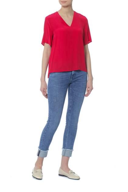 Блуза женская Tommy Hilfiger WW0WW21496 красная 2 USA