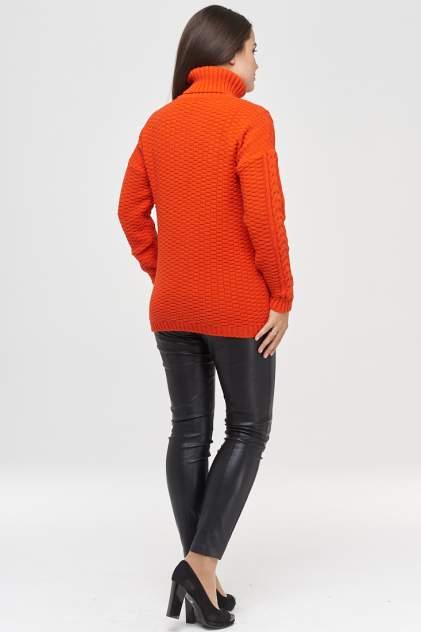 Свитер женский VAY 182-4793 оранжевый 54 RU