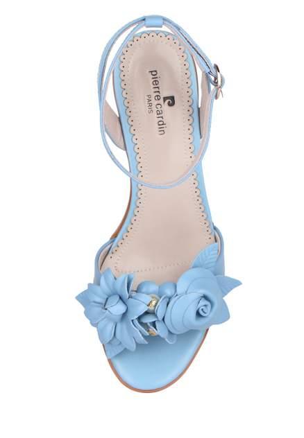 Босоножки женские Pierre Cardin 710018119 голубые 37 RU