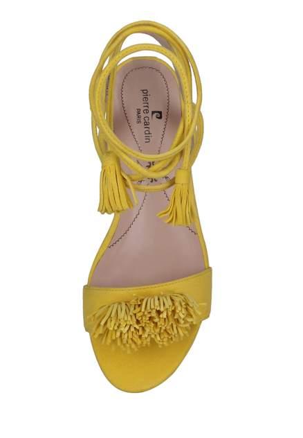 Босоножки женские Pierre Cardin 710017486 желтые 38 RU