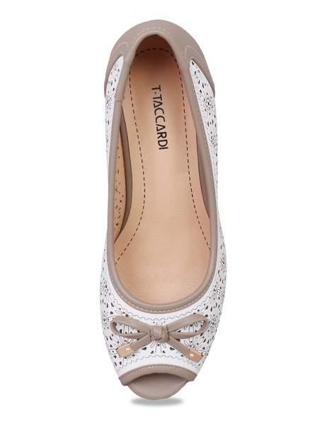 Туфли женские T.Taccardi 27306470 белые/бежевые 38 RU