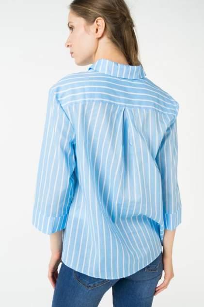 Рубашка женская ZARINA 8225101330041 голубая 42 RU