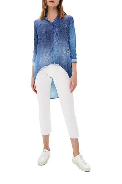 Рубашка женская Sahera Rahmani 1082644-16 синяя M