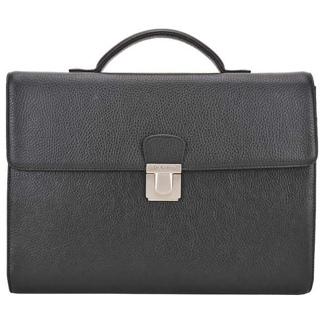 Портфель мужской кожаный Dr. Koffer P402322-02-04 черный
