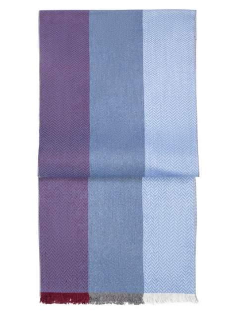 Шарф мужской Labbra LJG34-773 голубой/фиолетовый