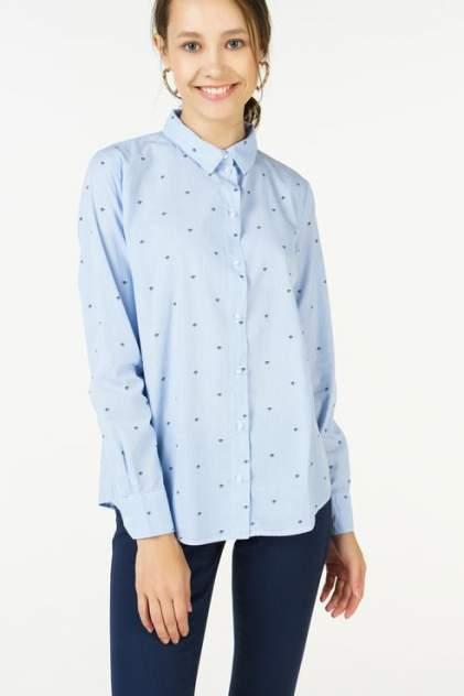 Рубашка женская Jacqueline de Yong 15158497 голубая 40 FR