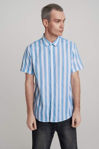 Рубашка мужская befree 929518303 голубая L