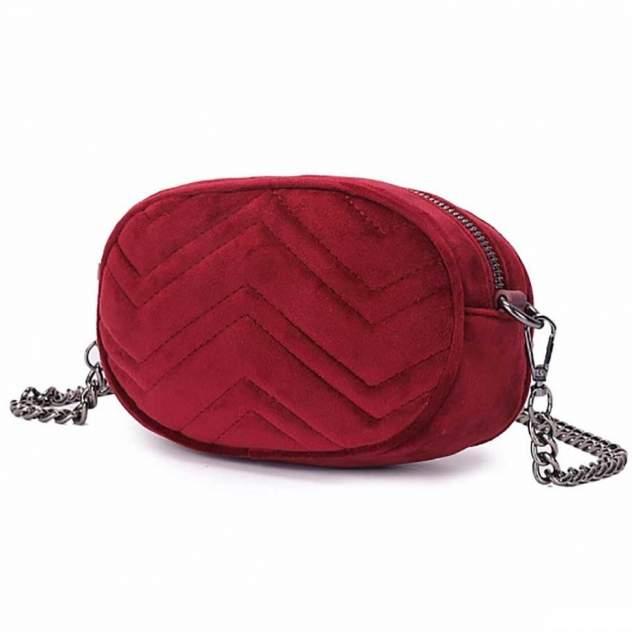 Сумка на пояс женская Orsoro DW-862 красная