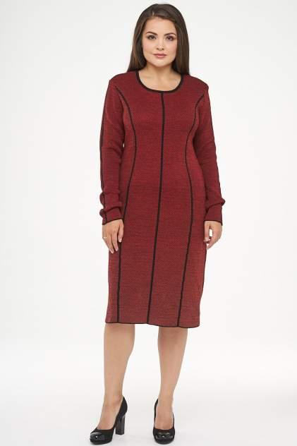 Платье женское VAY 182-2312 красное 50 RU