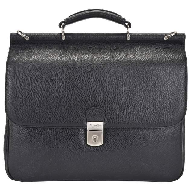 Портфель мужской кожаный Dr. Koffer P402295-02-04 черный