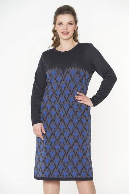 Платье женское VAY 2290 серое 56 RU