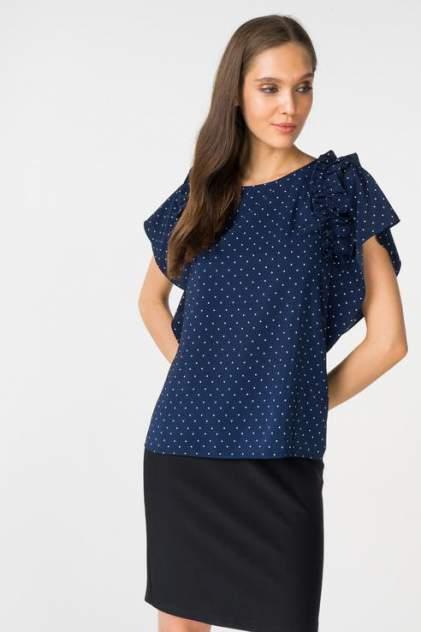 Блуза женская ZARINA 8224100330040 синяя 42 RU