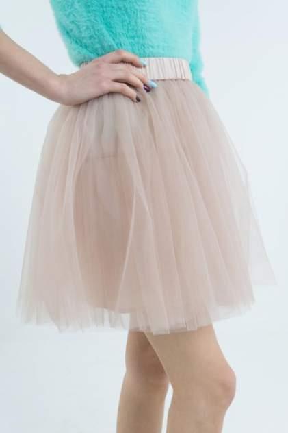 Юбка женская T-Skirt 15SS-01-0001-BS бежевая 44 RU