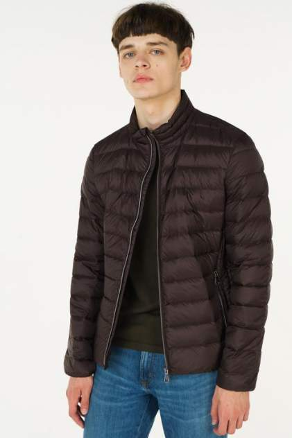 Куртка мужская GEOX M8425D/T2449 коричневая 56 IT
