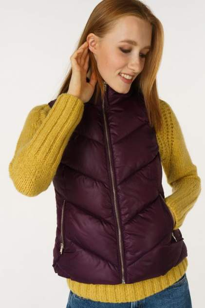 Женский утепленный жилет BROADWAY 10158992, фиолетовый