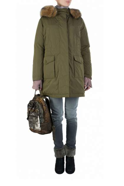 Куртка женская GEOX 91323 зеленая 40 IT