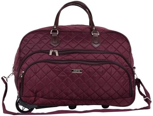 Дорожная сумка Polar 7050.1 бордовая 55 x 25 x 37