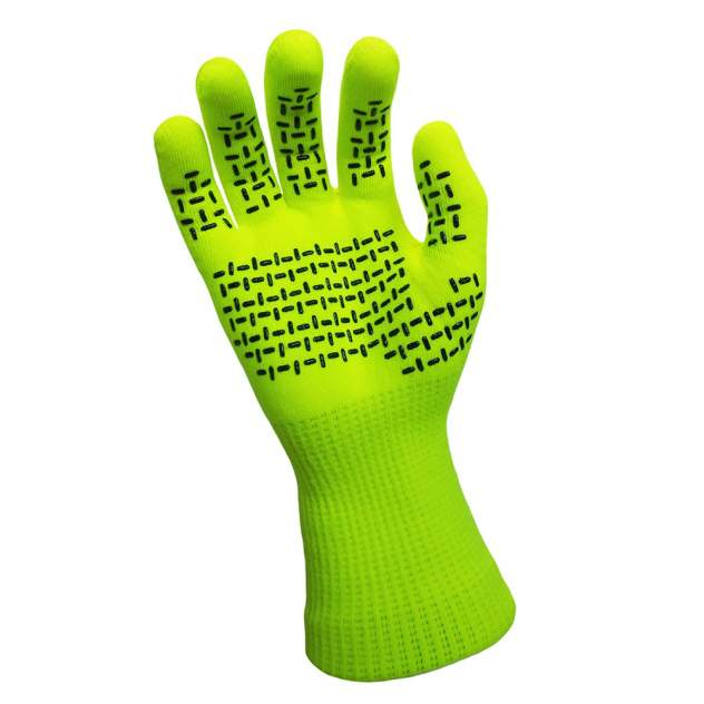 Перчатки мужские DexShell TouchFit HY Gloves, зеленые, L INT