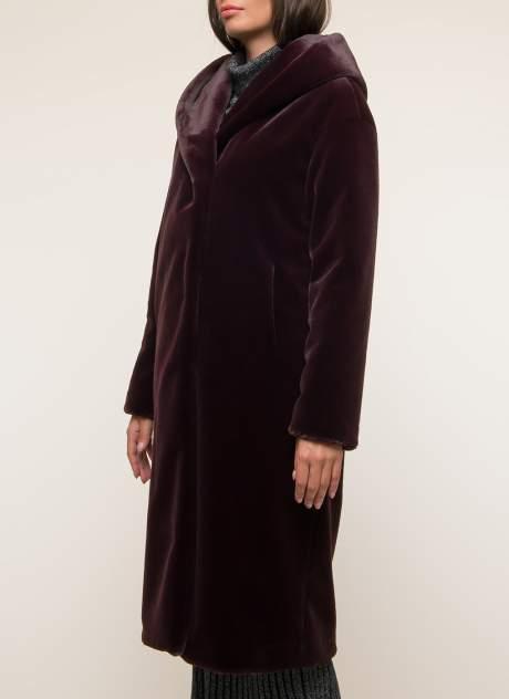 Пальто женское Синар ДОМЕНИЛЬ 906 красное 42 RU
