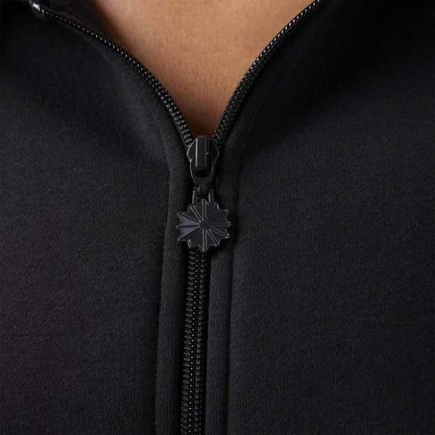 Толстовка Reebok Fleece Zip-Up, black, XS INT
