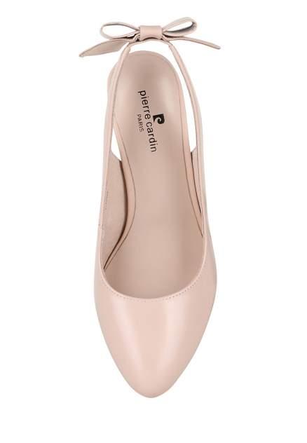 Туфли женские Pierre Cardin 710018114 бежевые 37 RU