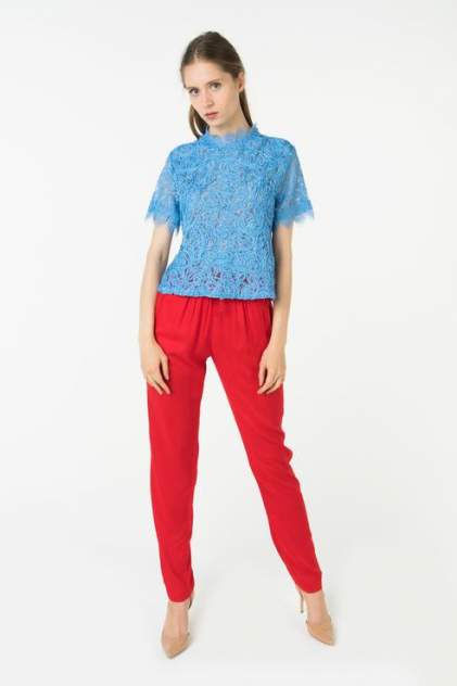 Блуза женская ZARINA 8225106334108 голубая 42 RU