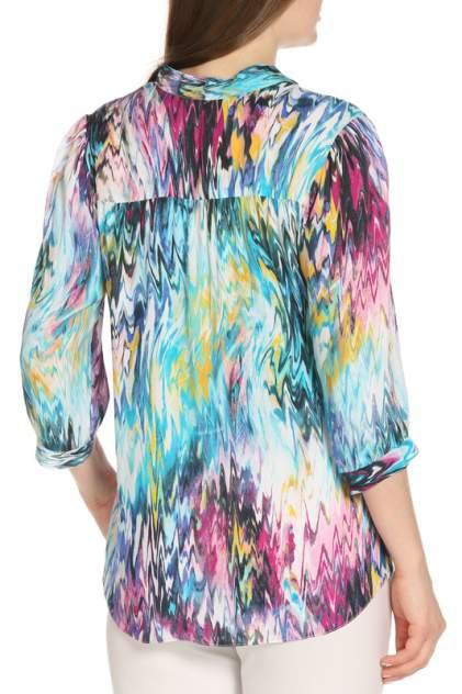 Блуза женская Olenny 3W 361301 голубая 46 RU