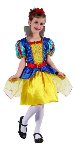 Карнавальный костюм Snowmen Принцесса; Белоснежка, цв. разноцветный р.104