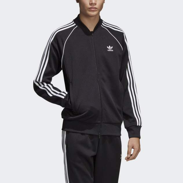 Мужская толстовка Adidas Originals Superstar Track CW1256 44-46 RU