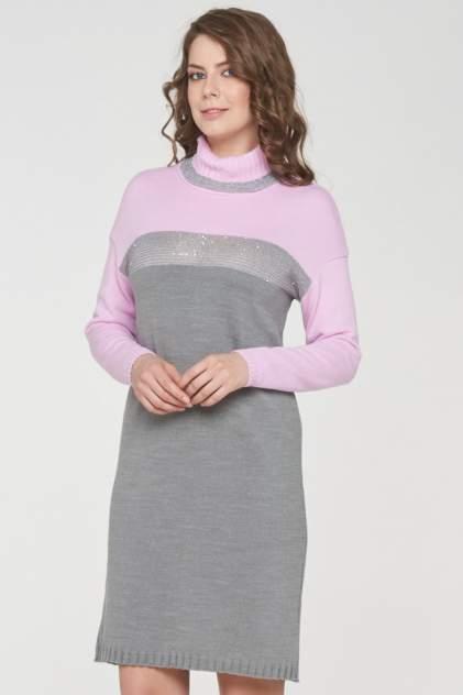 Платье женское VAY 182-2381 серое 54 RU