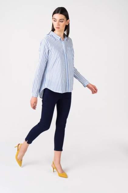 Рубашка женская Broadway 10158716 голубая L
