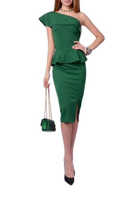 Платье женское FRANCESCA LUCINI F0707-4 зеленое 46 RU