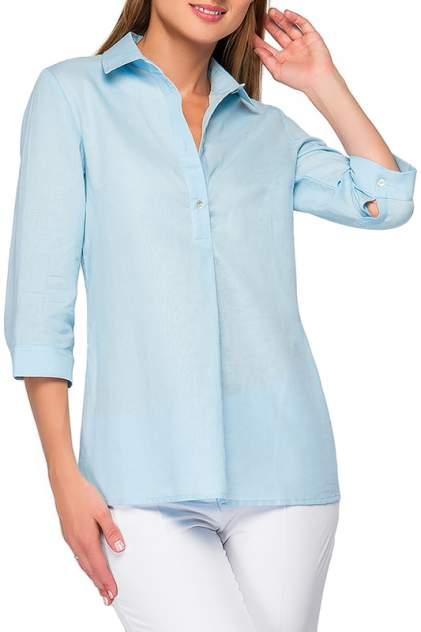 Рубашка женская Limonti 723800 голубая 42 RU