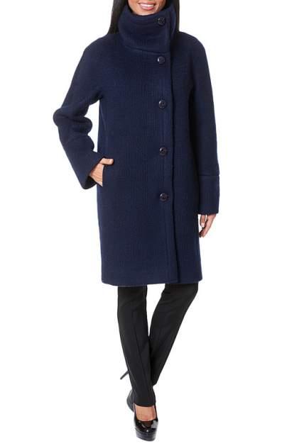 Пальто женское Argent AZWS7084 синее 44 RU