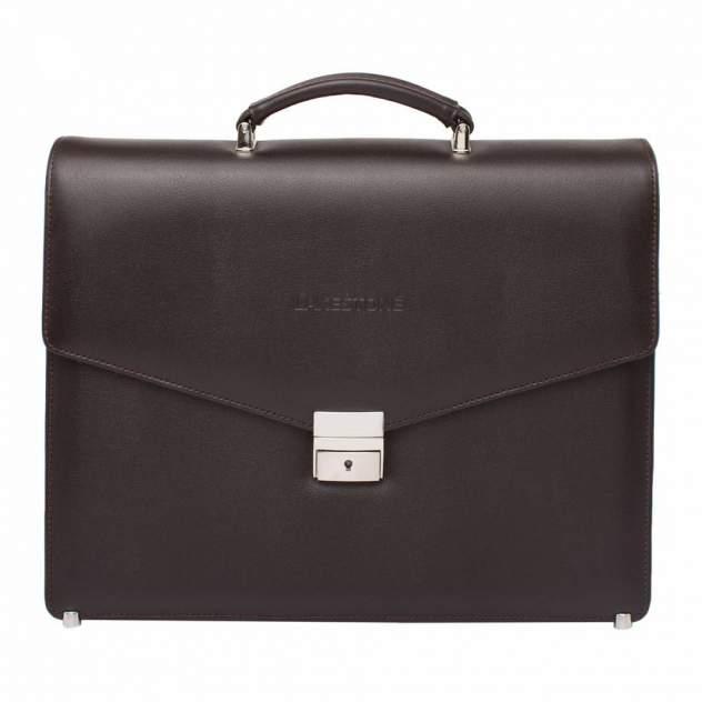 Портфель мужской кожаный Lakestone Richeson 943030/BR коричневый