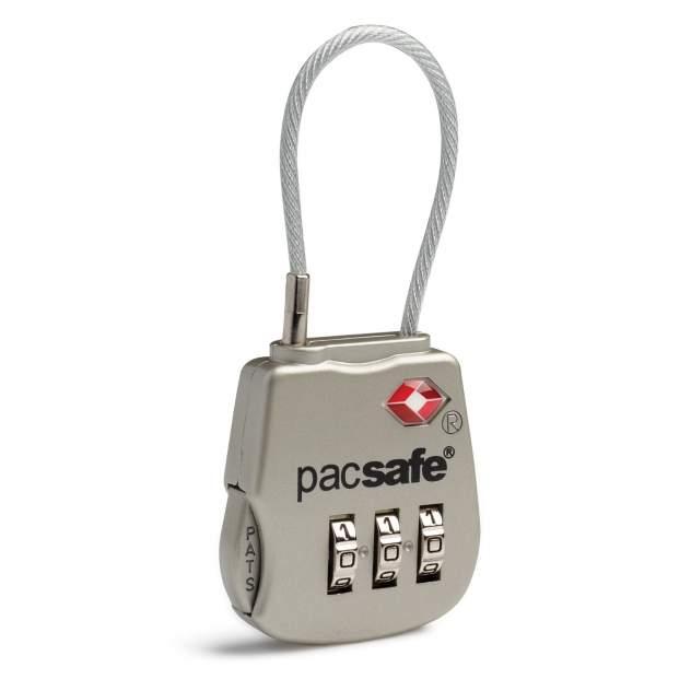 Замок для багажа Pacsafe Prosafe 800 серебряный
