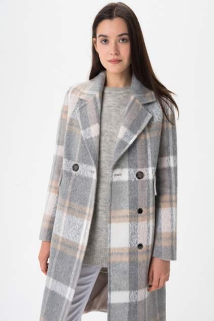 Пальто женское ElectraStyle 4-9009-282 серое 46 RU