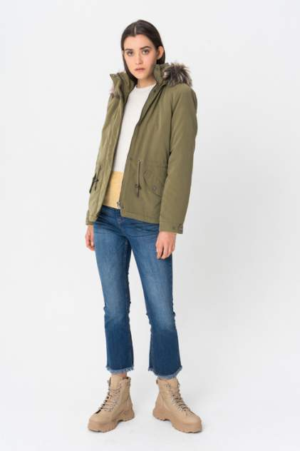 Куртка женская ONLY 15180326 зеленая S