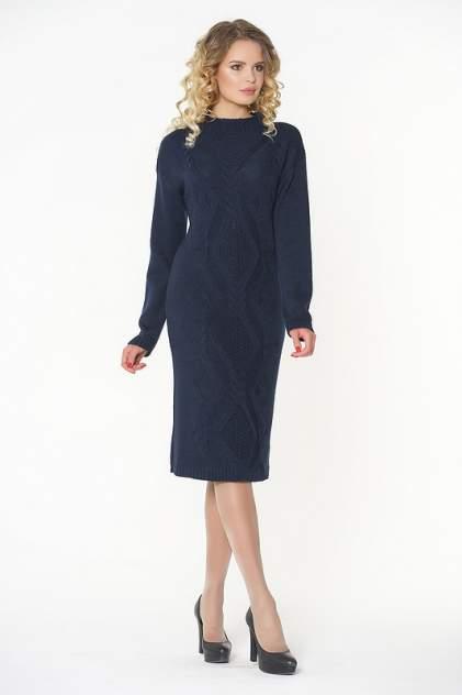 Платье женское VAY 2282 синее 54 RU