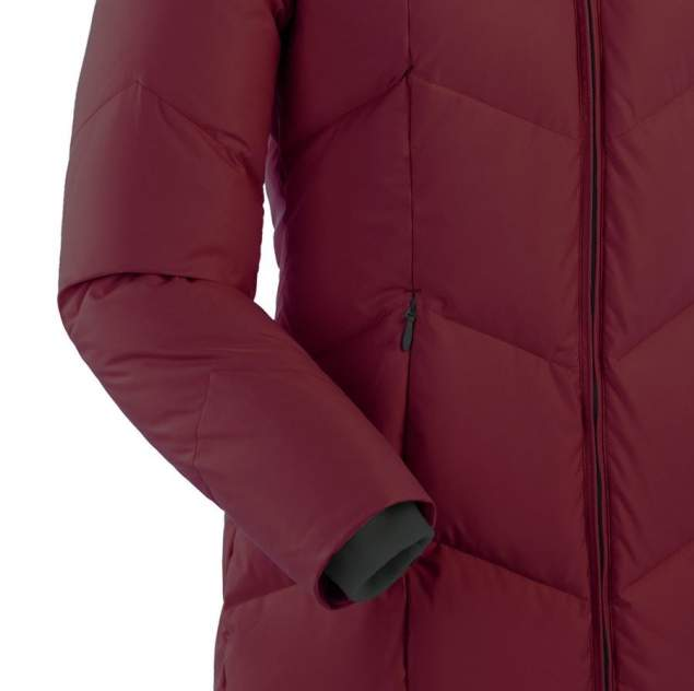 Пуховое пальто  ROUTE V3 4149B-70336-L БОРДО L