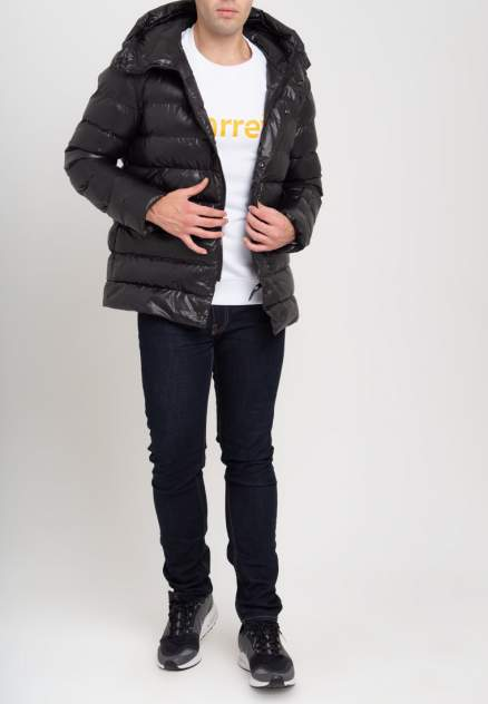 Пуховик мужской Parrey jacket mod1m черный M